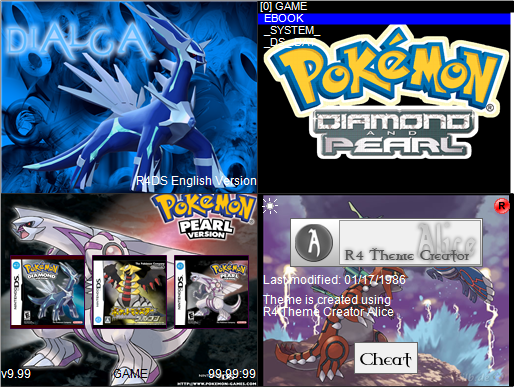 Thumbnail 1 for POKEMON D/P R4 DS THEMES